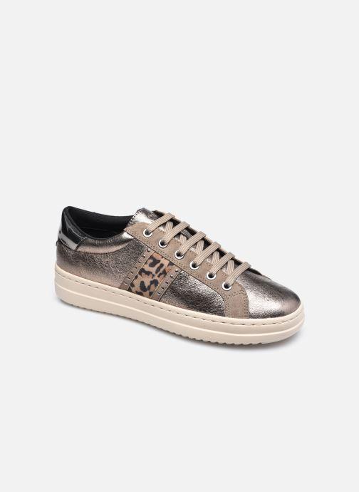 Sneaker Geox D PONTOISE D04FEG silber detaillierte ansicht/modell