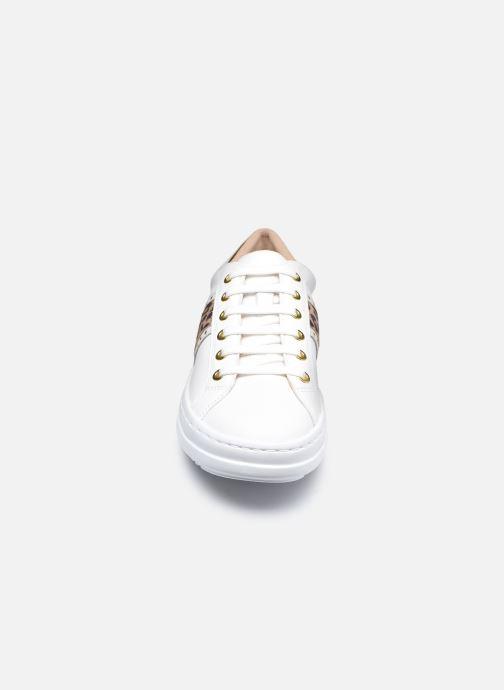 Baskets Geox D PONTOISE D04FEG Blanc vue portées chaussures