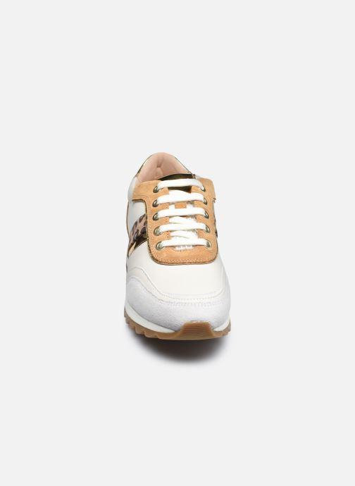 Baskets Geox D TABELYA D04AQB022 Blanc vue portées chaussures