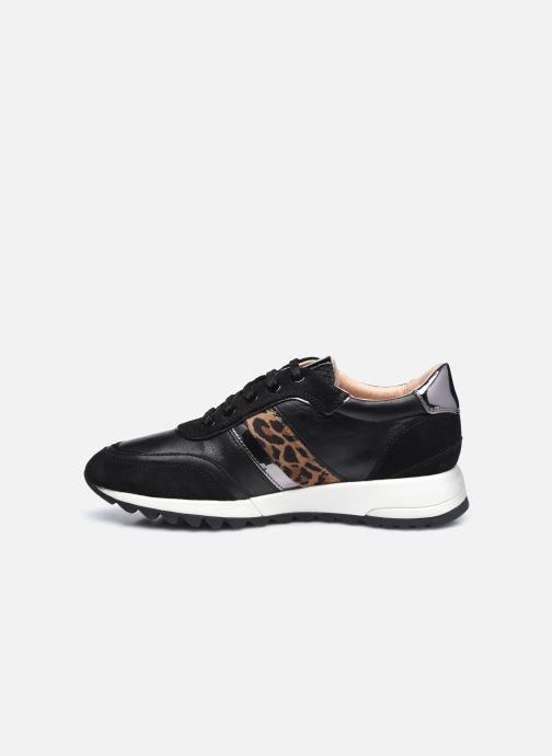 Sneaker Geox D TABELYA D04AQB022 schwarz ansicht von vorne