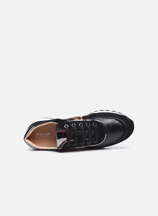 Sneaker Geox D TABELYA D04AQB022 schwarz ansicht von links