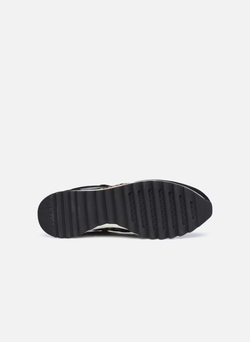 Sneaker Geox D TABELYA D04AQB022 schwarz ansicht von oben