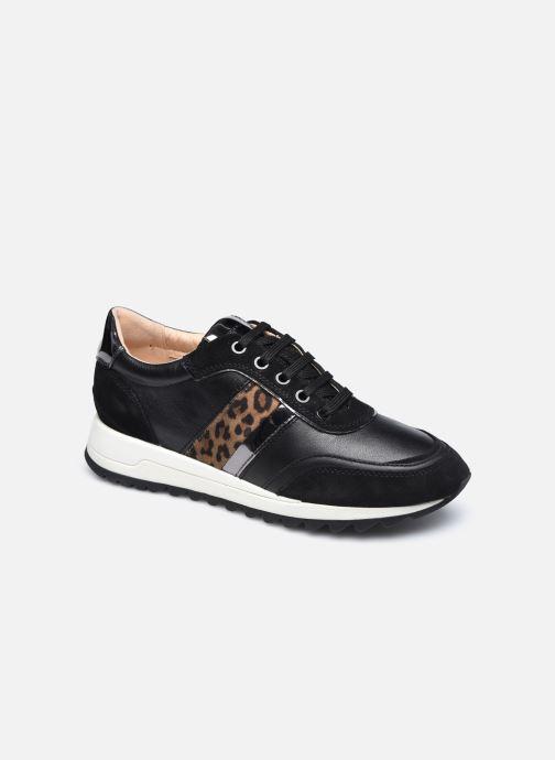 Sneaker Geox D TABELYA D04AQB022 schwarz detaillierte ansicht/modell