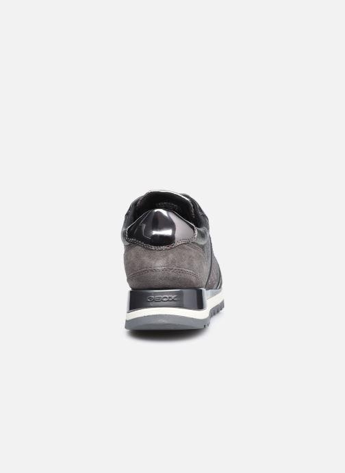 Sneaker Geox D TABELYA D94AQA022 silber ansicht von rechts