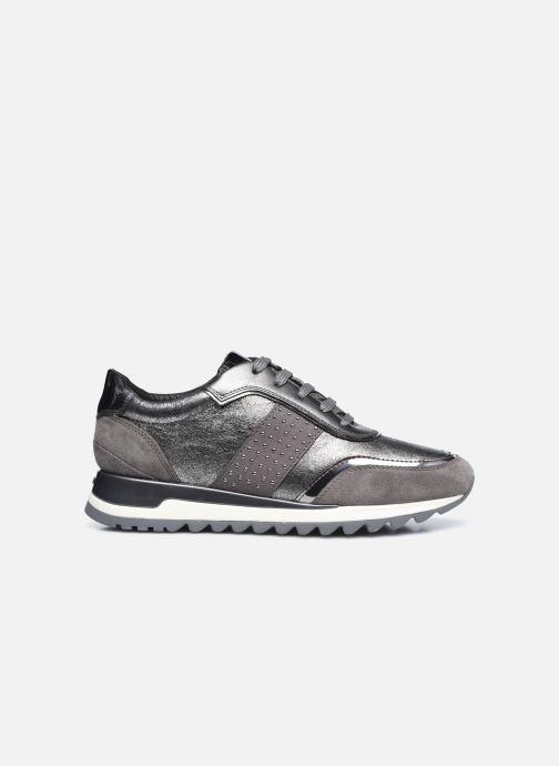 Sneaker Geox D TABELYA D94AQA022 silber ansicht von hinten