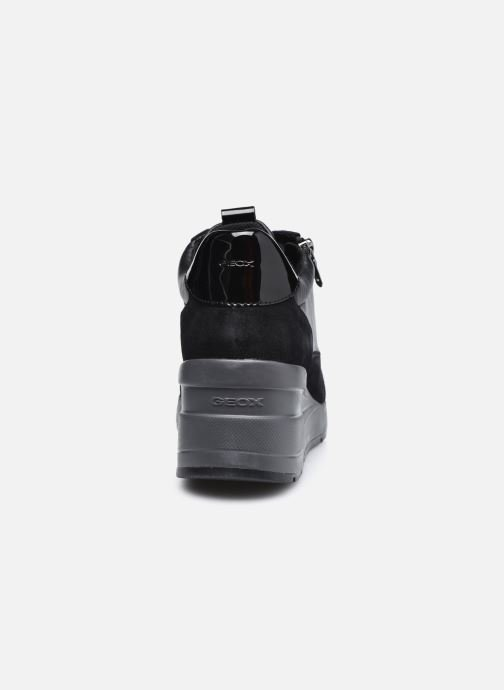 Sneaker Geox D ZOSMA D048LB schwarz ansicht von rechts