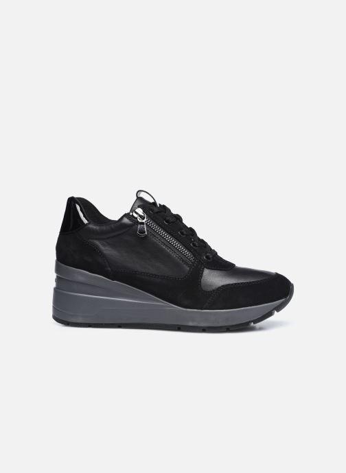 Sneaker Geox D ZOSMA D048LB schwarz ansicht von hinten