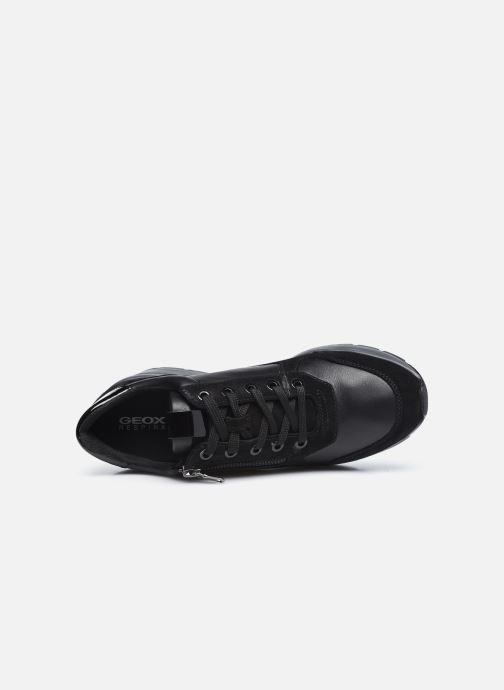 Sneaker Geox D ZOSMA D048LB schwarz ansicht von links