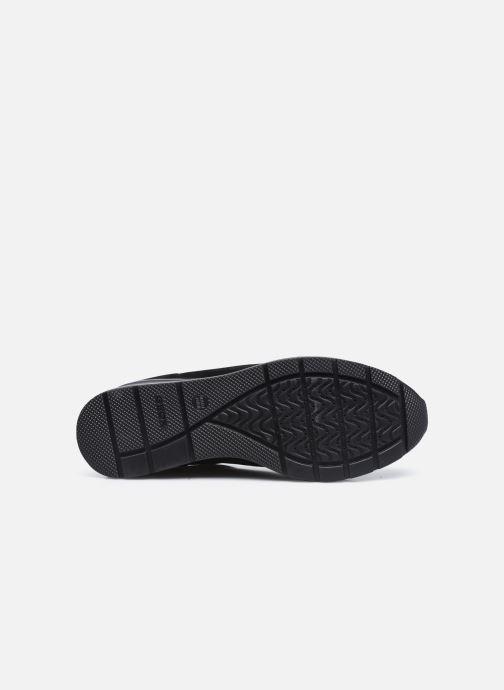 Sneaker Geox D ZOSMA D048LB schwarz ansicht von oben