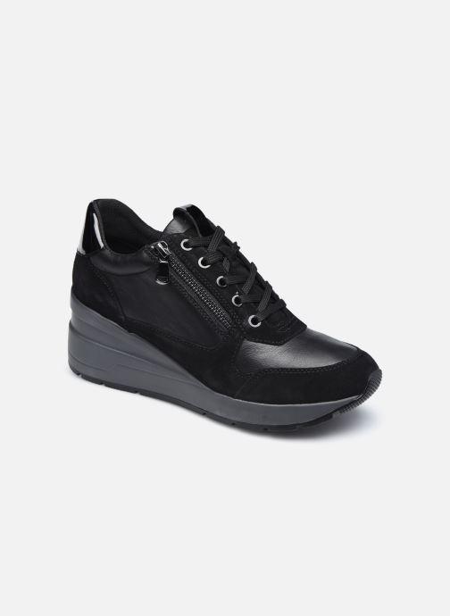 Sneaker Geox D ZOSMA D048LB schwarz detaillierte ansicht/modell