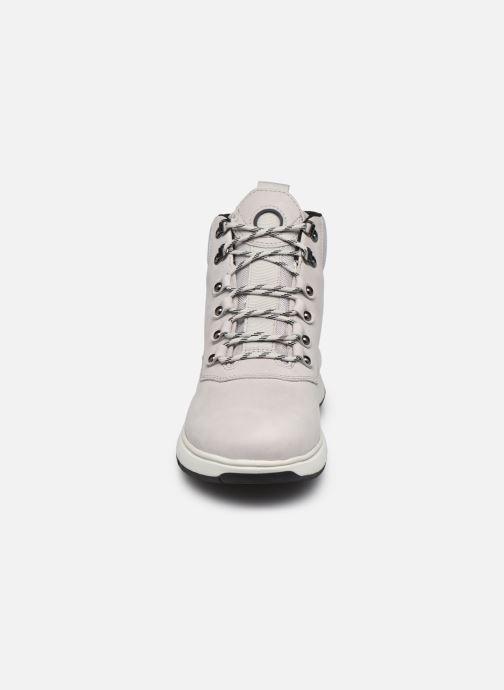 Stiefeletten & Boots Geox D AERANTIS 4X4 B ABX grau schuhe getragen