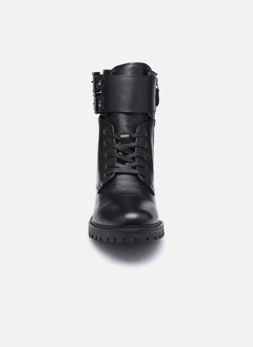 Stiefeletten & Boots Geox D HOARA FTE schwarz schuhe getragen