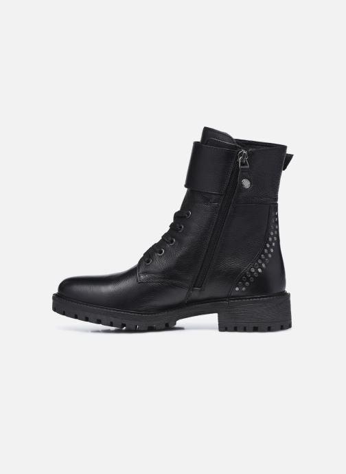 Stiefeletten & Boots Geox D HOARA FTE schwarz ansicht von vorne