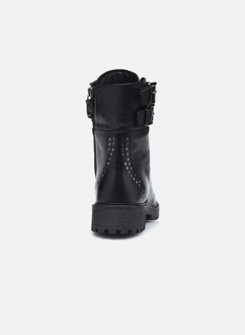 Stiefeletten & Boots Geox D HOARA FTE schwarz ansicht von rechts