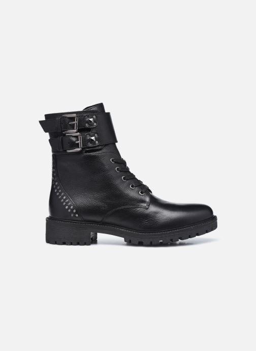 Stiefeletten & Boots Geox D HOARA FTE schwarz ansicht von hinten