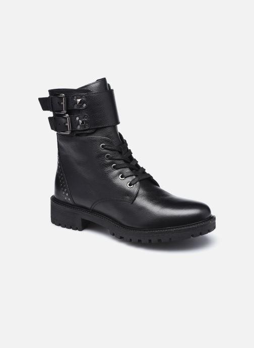 Bottines et boots Geox D HOARA FTE Noir vue détail/paire
