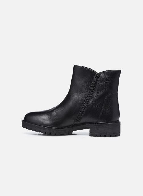 Bottines et boots Geox D HOARA FTF Noir vue face