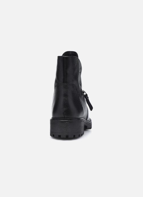 Bottines et boots Geox D HOARA FTF Noir vue droite