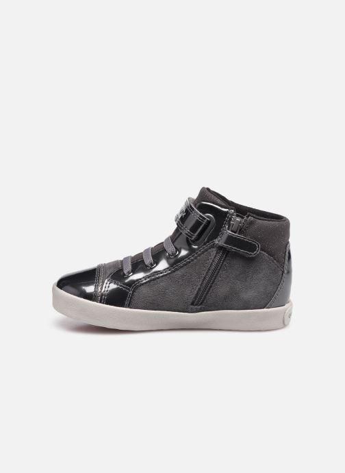Sneaker Geox B Kilwi Girl B04D5D grau ansicht von vorne