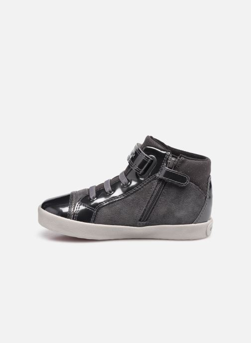 Sneakers Geox B Kilwi Girl B04D5D Grijs voorkant