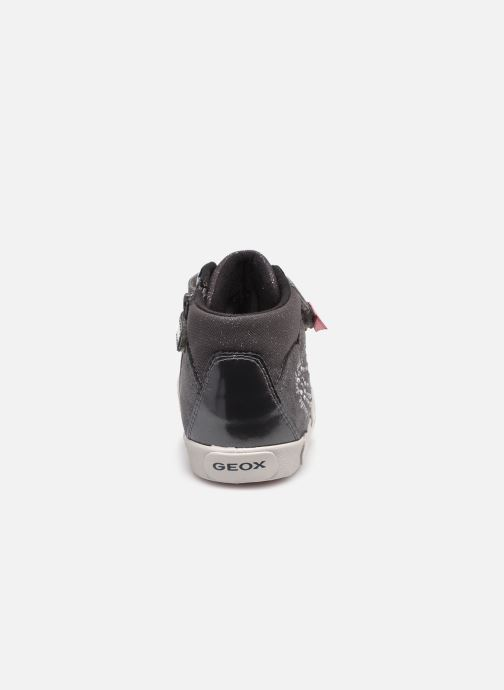 Sneaker Geox B Kilwi Girl B04D5D grau ansicht von rechts