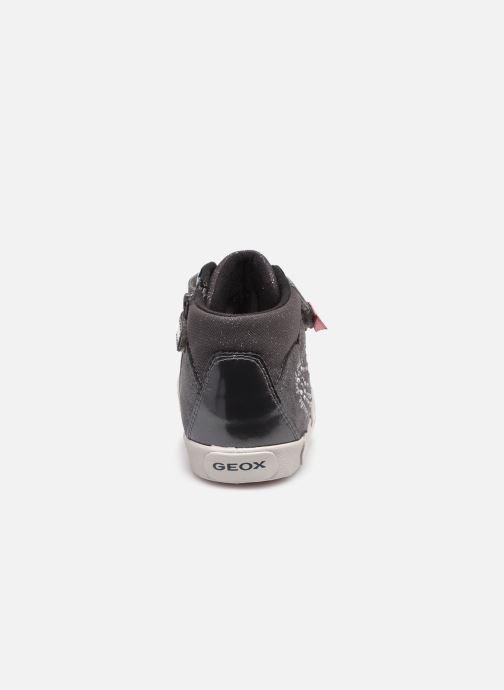 Sneakers Geox B Kilwi Girl B04D5D Grijs rechts