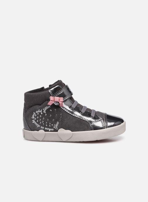 Sneaker Geox B Kilwi Girl B04D5D grau ansicht von hinten