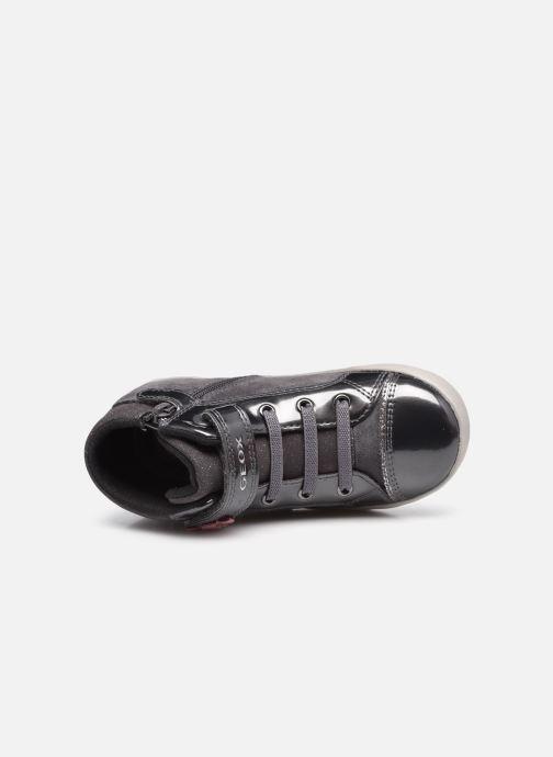Sneaker Geox B Kilwi Girl B04D5D grau ansicht von links