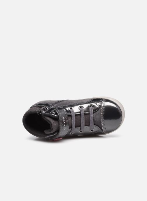 Sneakers Geox B Kilwi Girl B04D5D Grijs links
