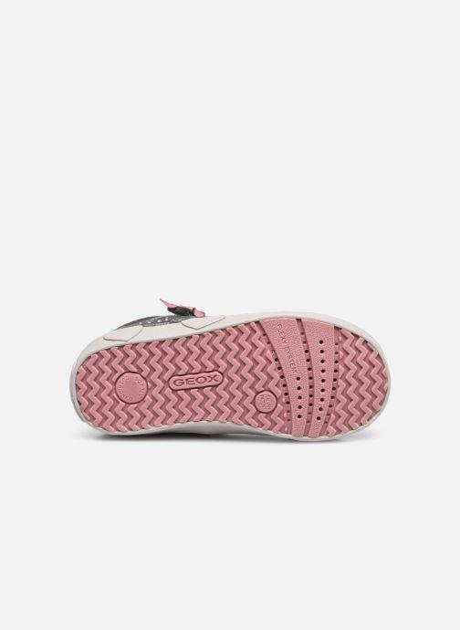 Sneakers Geox B Kilwi Girl B04D5D Grijs boven