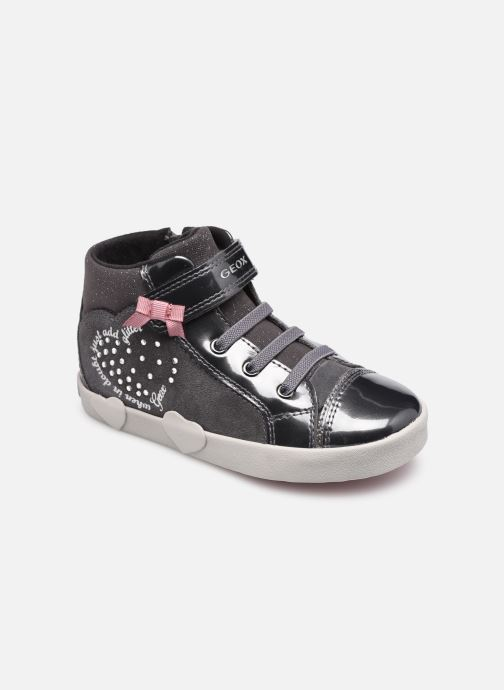 Sneakers Geox B Kilwi Girl B04D5D Grijs detail
