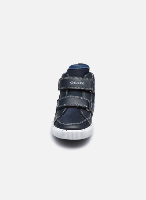 Sneaker Geox B Kilwi Boy B04A7C blau schuhe getragen