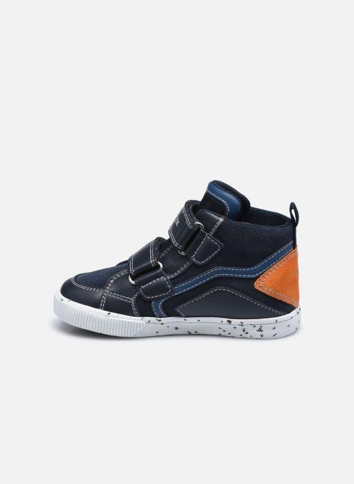Sneaker Geox B Kilwi Boy B04A7C blau ansicht von vorne