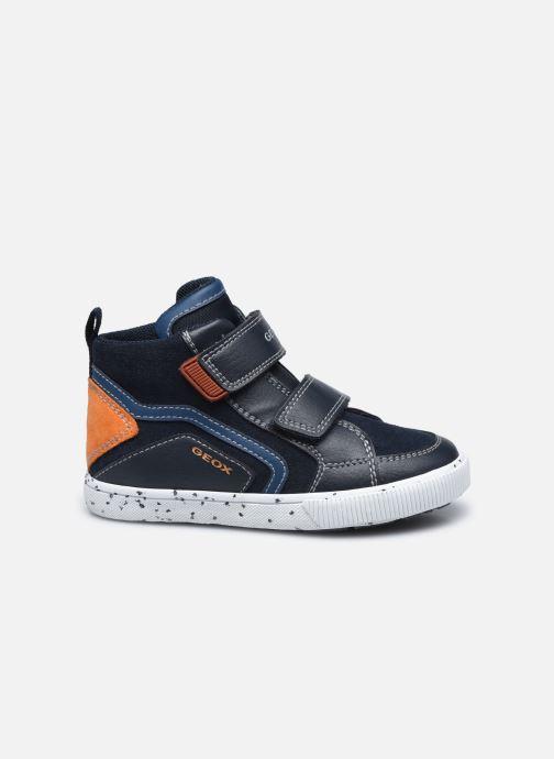 Sneaker Geox B Kilwi Boy B04A7C blau ansicht von hinten
