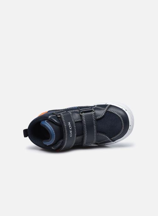 Sneaker Geox B Kilwi Boy B04A7C blau ansicht von links