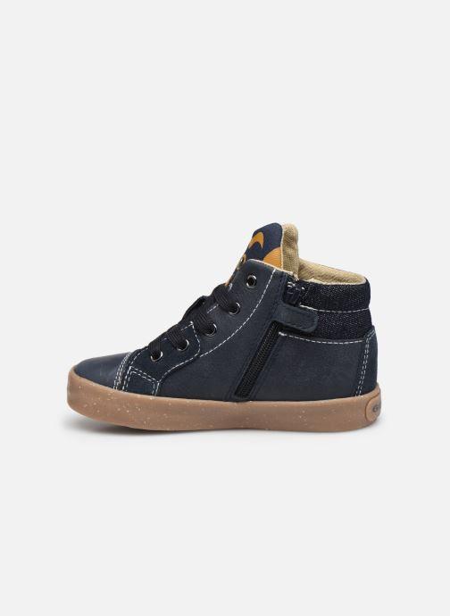 Sneaker Geox B Kilwi Boy B04A7D x WWF blau ansicht von vorne