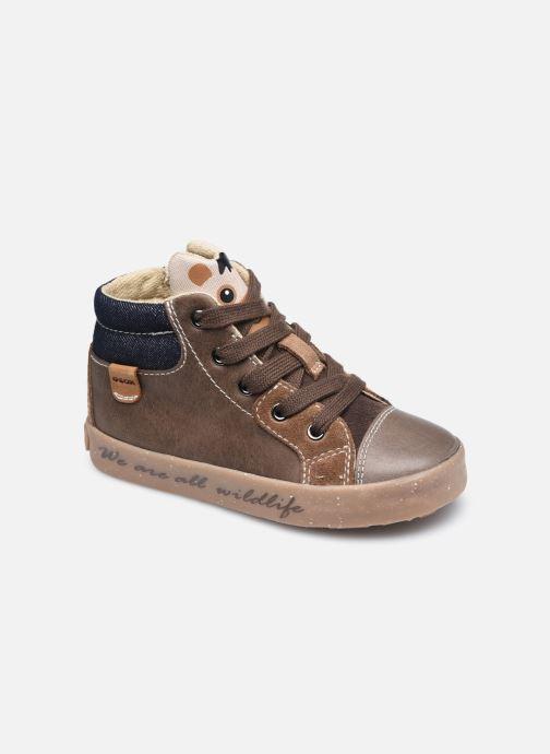 Sneaker Geox B Kilwi Boy B04A7D x WWF braun detaillierte ansicht/modell