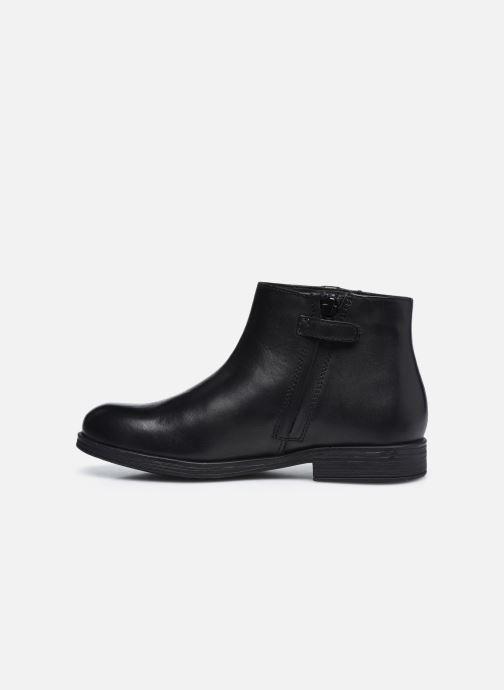 Bottines et boots Geox Jr Agata J0449D Noir vue face