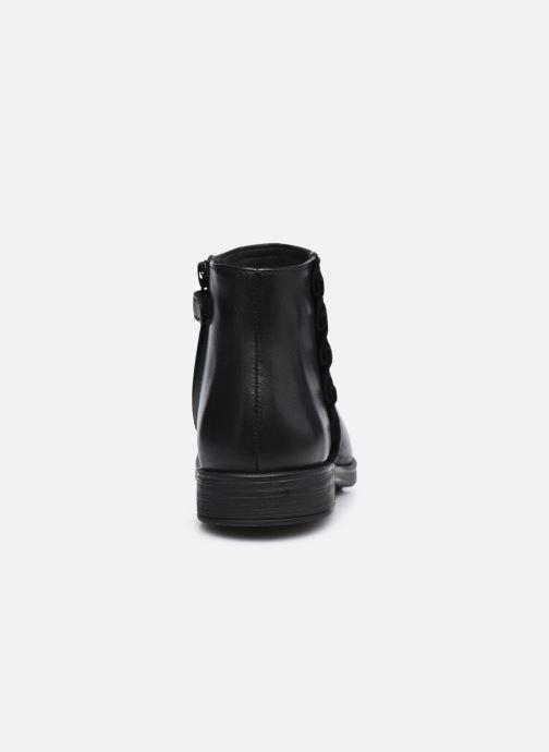 Bottines et boots Geox Jr Agata J0449D Noir vue droite