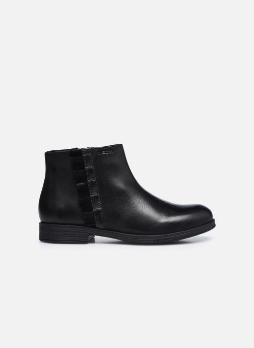 Bottines et boots Geox Jr Agata J0449D Noir vue derrière