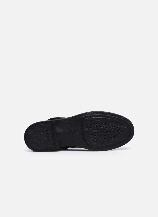 Bottines et boots Geox Jr Agata J0449D Noir vue haut