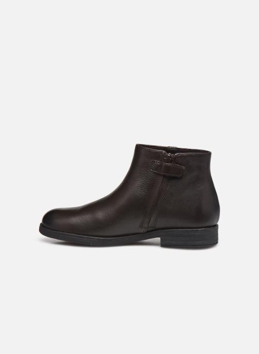 Stiefeletten & Boots Geox Jr Agata J0449D braun ansicht von vorne