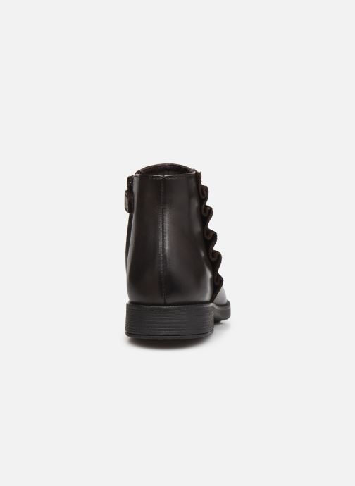 Stiefeletten & Boots Geox Jr Agata J0449D braun ansicht von rechts