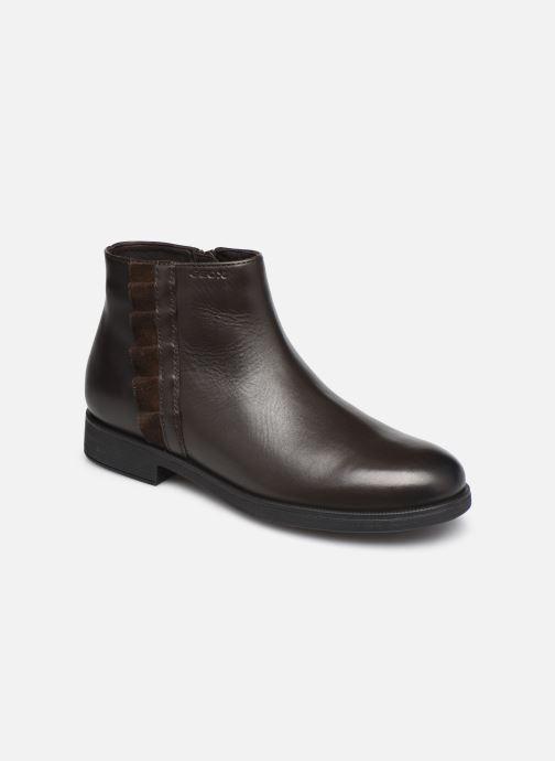 Stiefeletten & Boots Geox Jr Agata J0449D braun detaillierte ansicht/modell