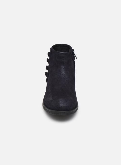Stiefeletten & Boots Geox Jr Agata J0449D blau schuhe getragen