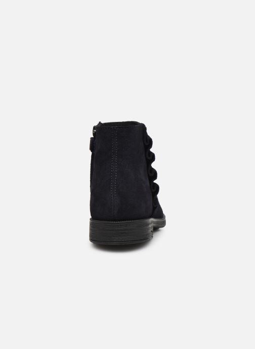 Stiefeletten & Boots Geox Jr Agata J0449D blau ansicht von rechts