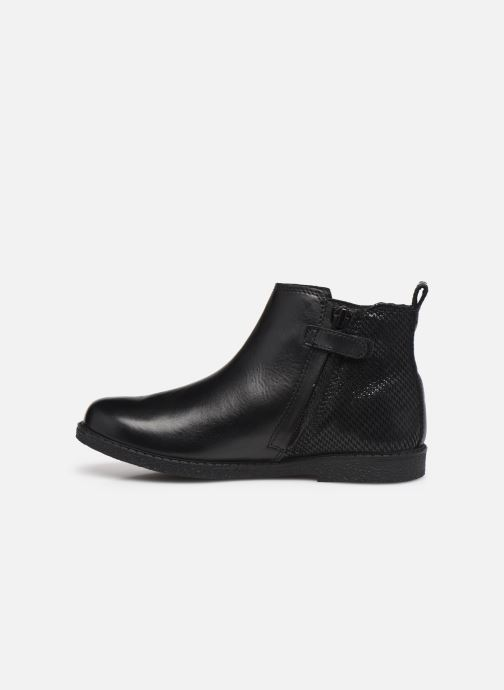 Bottines et boots Geox J Shawntel Girl J044EA Noir vue face
