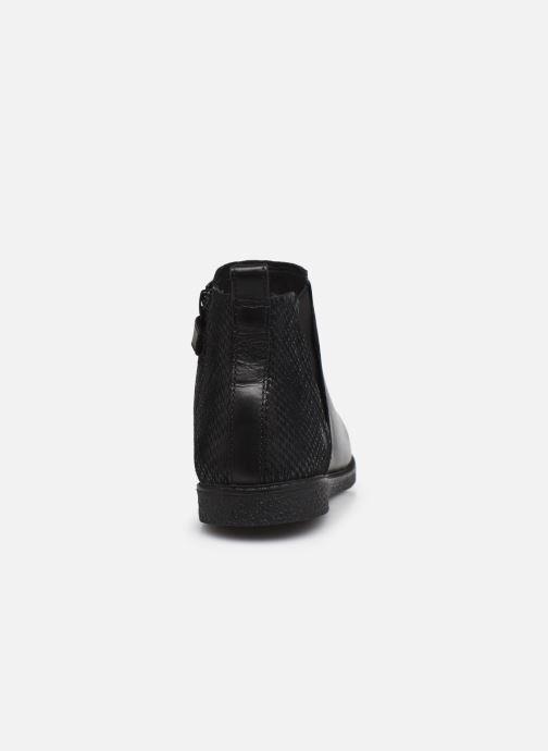 Bottines et boots Geox J Shawntel Girl J044EA Noir vue droite