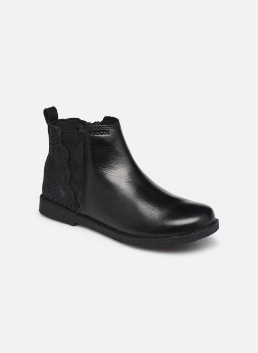 Bottines et boots Geox J Shawntel Girl J044EA Noir vue détail/paire