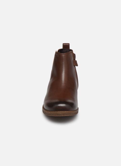 Bottines et boots Geox J Shawntel Girl J044EA Marron vue portées chaussures
